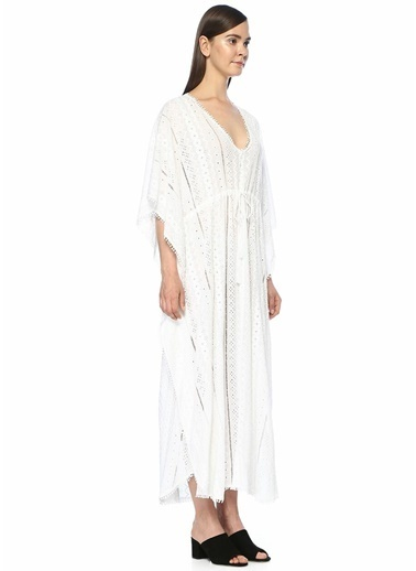 Melissa Odabash Plaj Elbisesi Beyaz